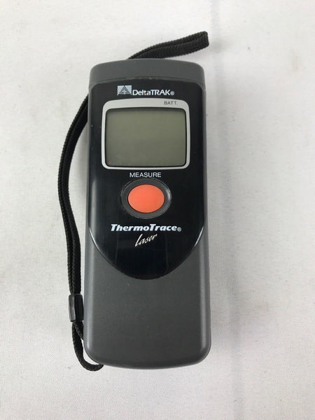 DeltaTRAK Thermotrace Laser Thermometer With Carrying Case