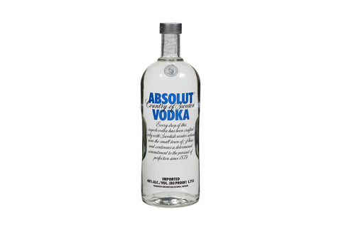 ABSOLUT VODKA 1.75LT