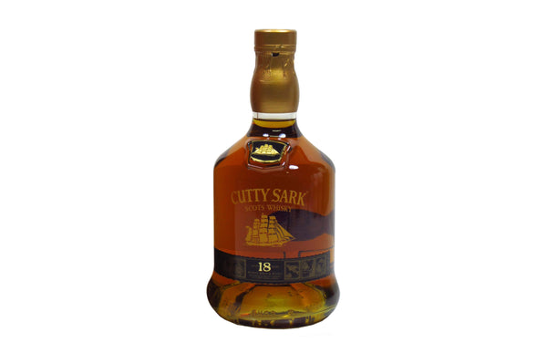CUTTY SARK 18* BLENDED WHISKEY 0.7LT