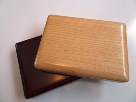 Large Wooden Oboe Reed Case