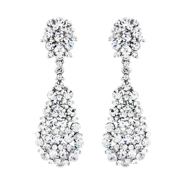 Bejewelled Starlet Bridal Earrings