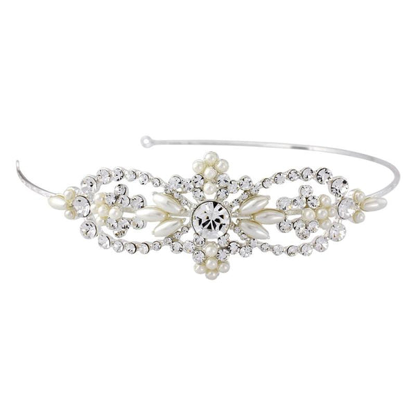 Bella Chic Pearl Bridal Headband