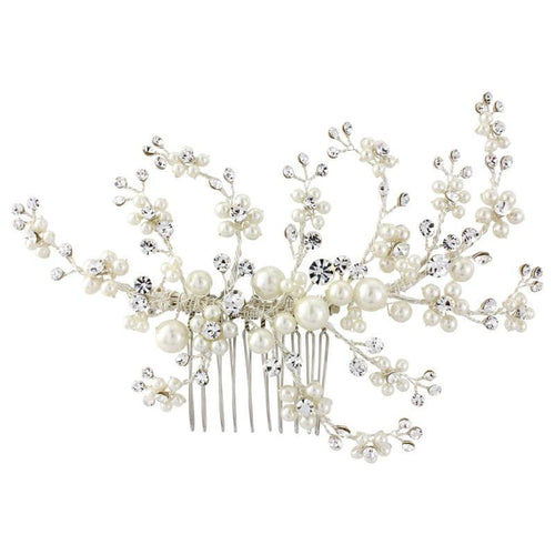 Betsy Luxe Bridal Hair Comb