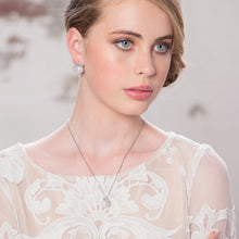 Load image into Gallery viewer, Chic Pearl Silver Wedding Necklace