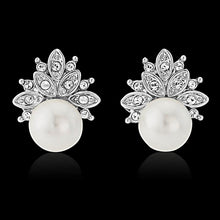 Load image into Gallery viewer, Chic Pearl Stud Bridal Earrings