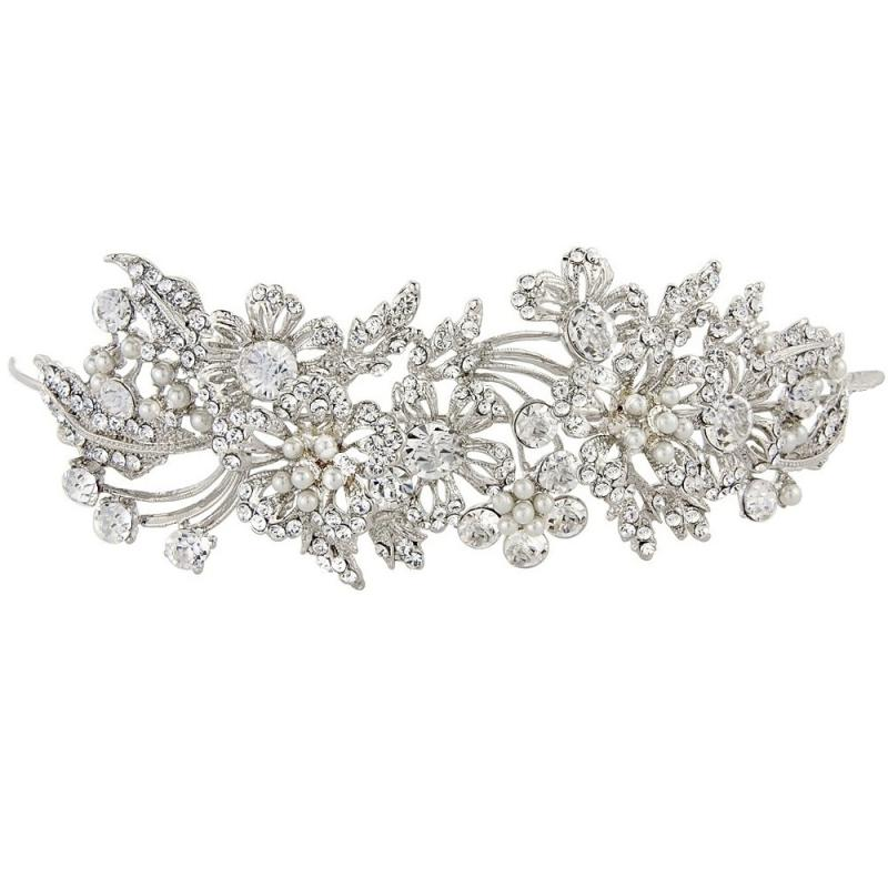 Enchanting Pearl Bridal Tiara