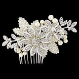 Esme Luxe Floral Bridal Hair Comb
