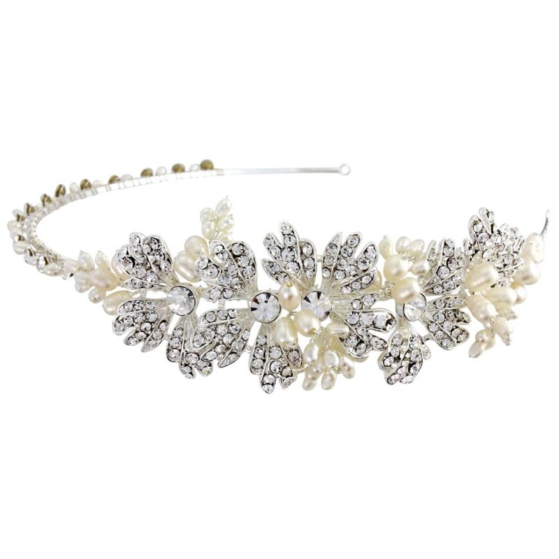 Evelyn Pearl Bridal Headband