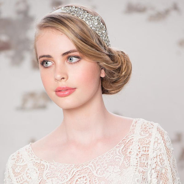 Exquisite Ribbon Bridal Headpiece
