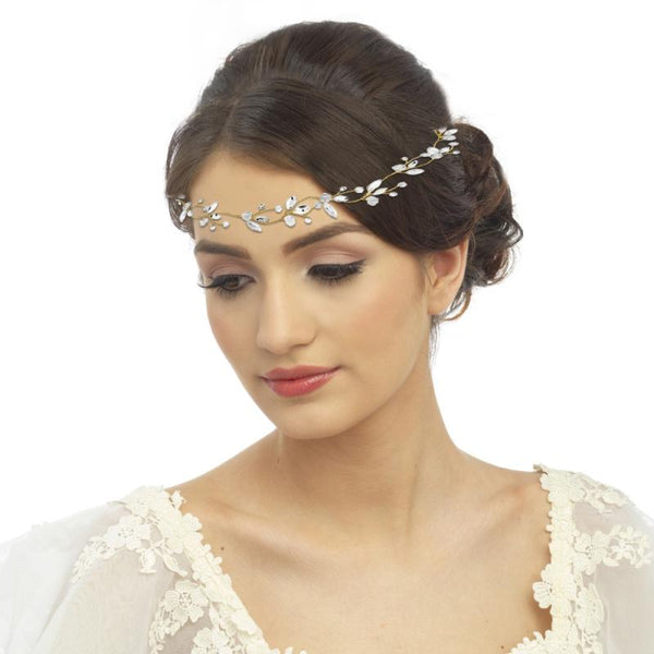 Gold Chic Bridal Hair Vine