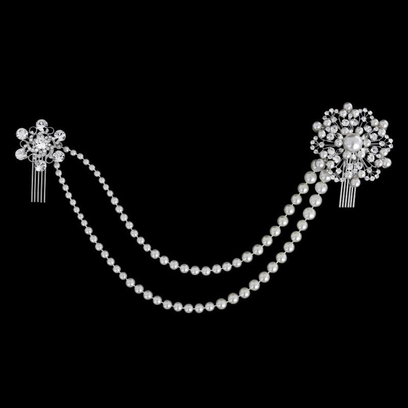 Luxe Pearl Dream Bridal Headpiece