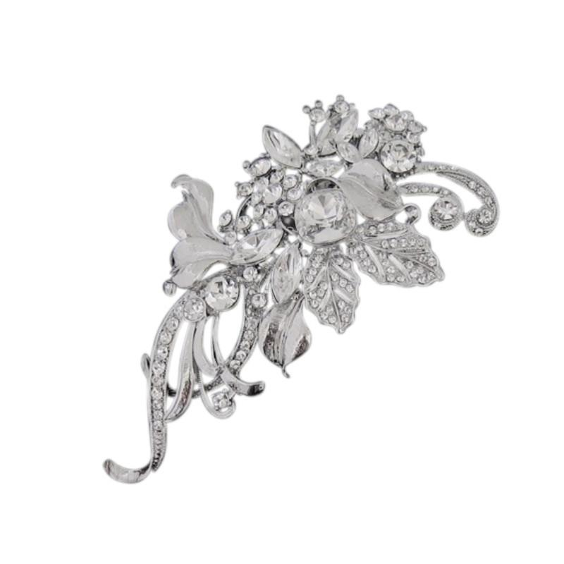 Luxurious Crystal Hair Comb