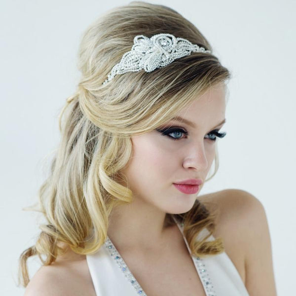Mabel Luxe Pearl Bridal Headband