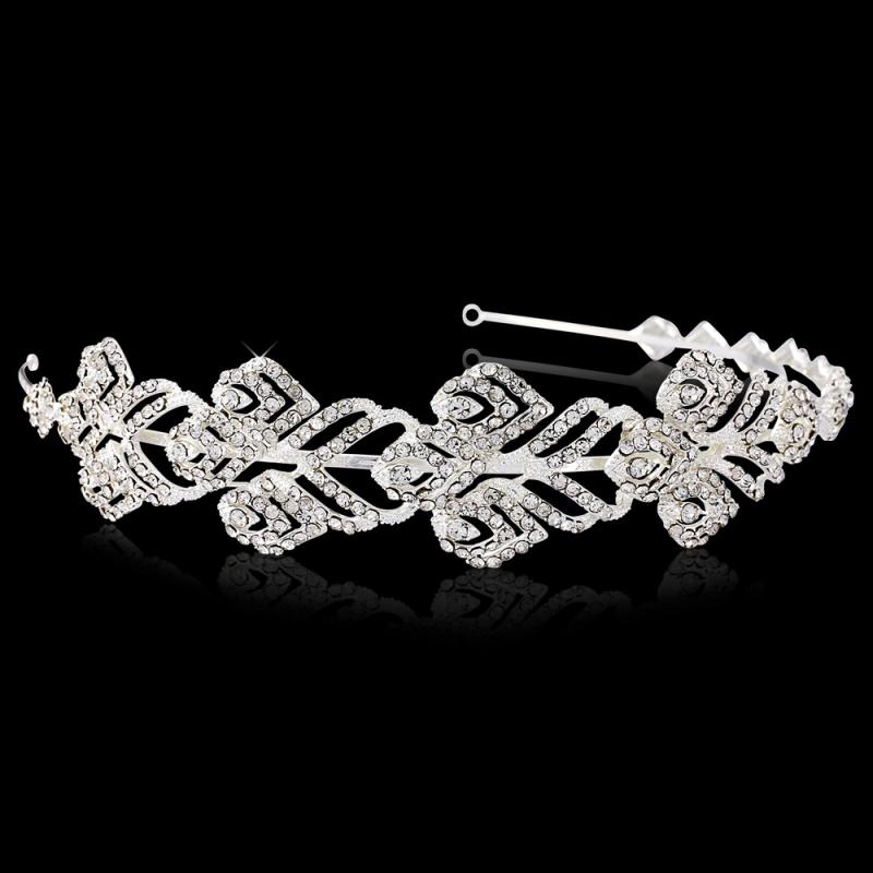 Marion Crystal Luxe Bridal Headband