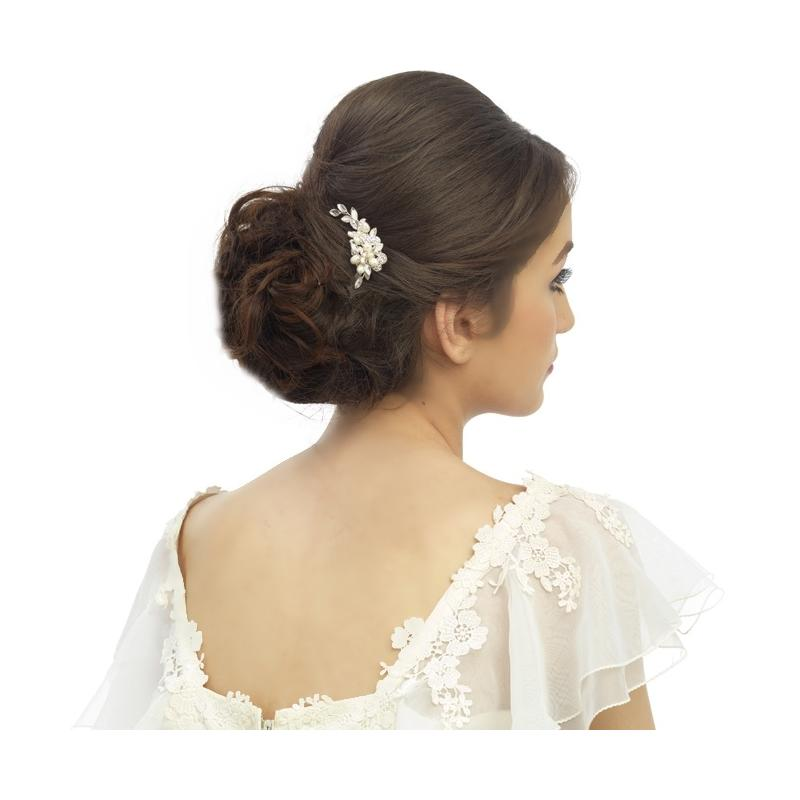 Marcia Luxe Wedding Hair Pin - Silver SASS B COLLECTION