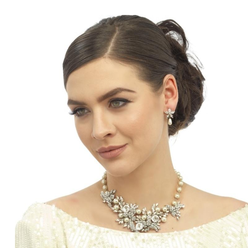 Opulent Luxe Pearl Necklace