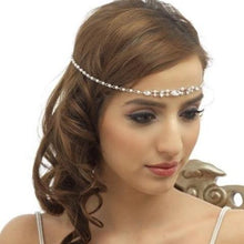 Load image into Gallery viewer, Precious Pearl Bridal Forehead Piece