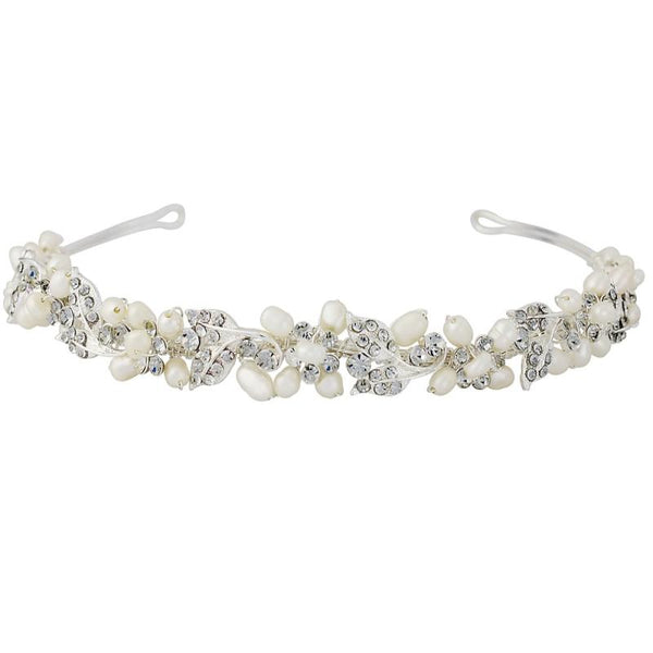 Pearlie Chic Vine Bridal Headband
