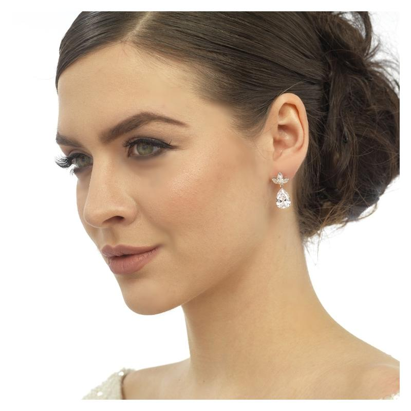 Pretty Chic Bridal Earrings