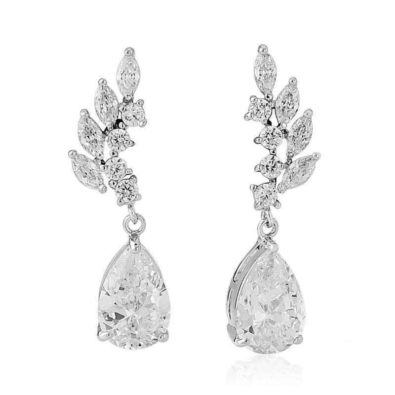 Starlet Divine Crystal Bridal Earrings