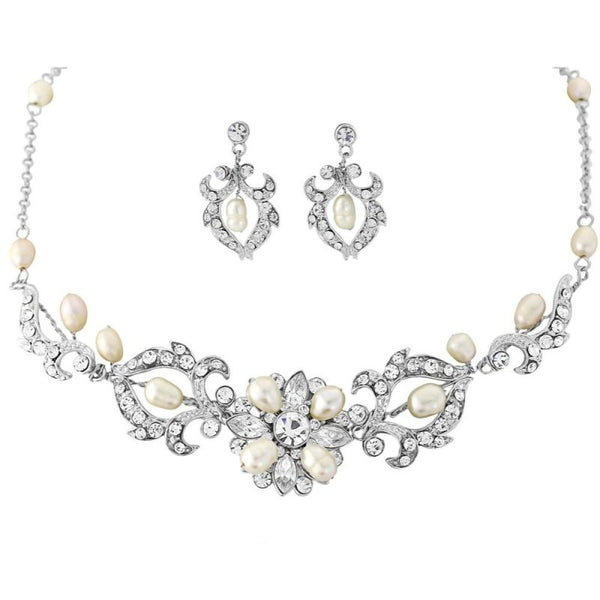 Starlet Glam Necklace & Earrings Set