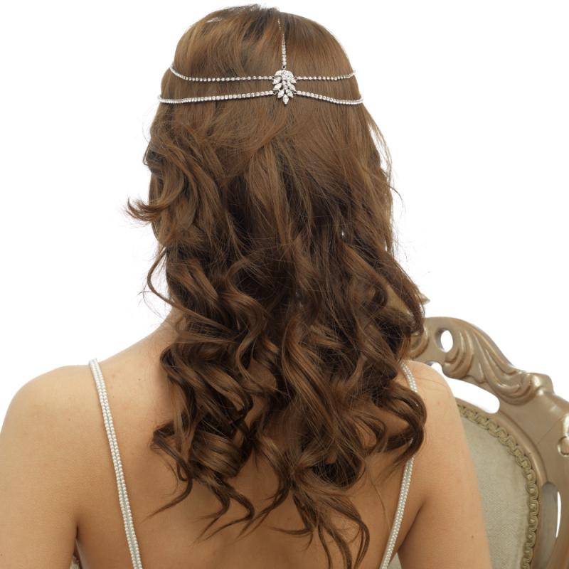 Statement Crystal Bridal Headpiece
