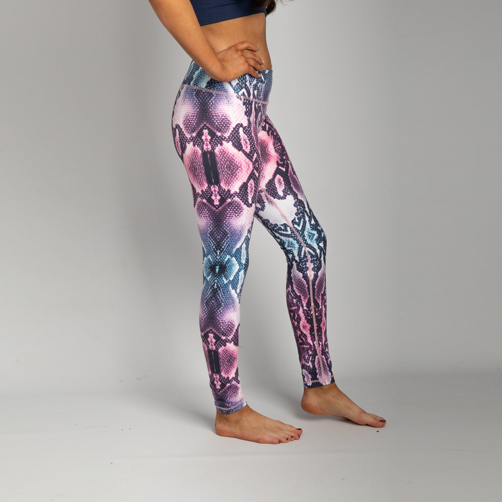 Kundalini Snakeprint - Yoga Leggings - Higher Waisted