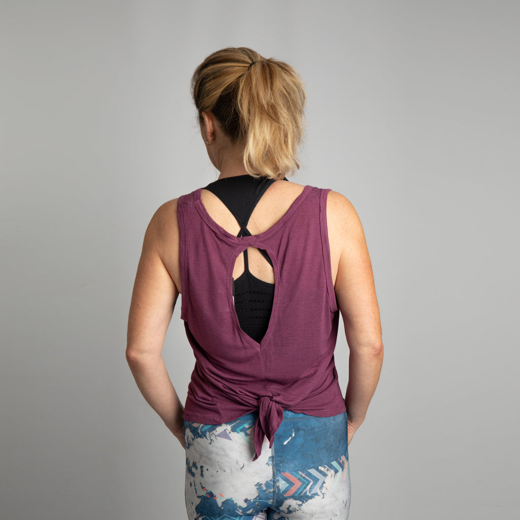 TR044 Women's TriDri® Tie-Back Vest - 3 for £30