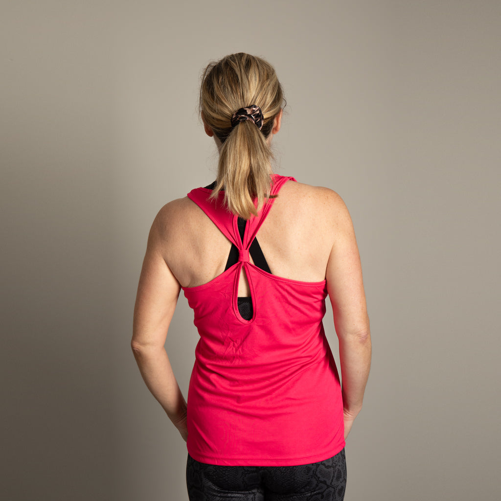 TR042 Women's TriDri® Yoga Knot Vest - 3 for £30