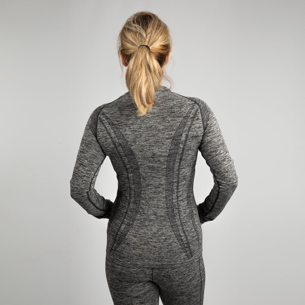 TR203 Women's TriDri® Seamless '3D Fit' Multi-Sport Performance Long Sleeve Top