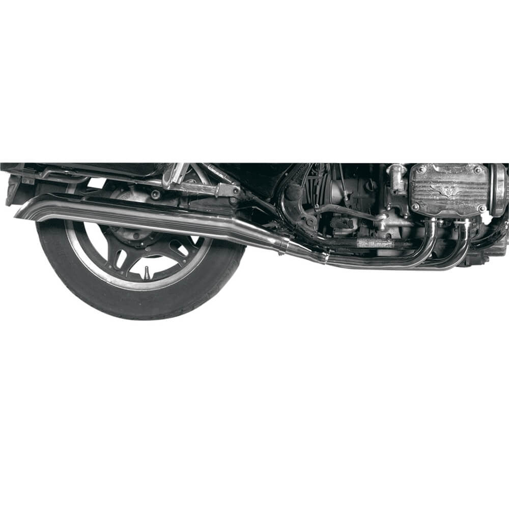 MAC 4-2 Chrome Turn-Down Exhaust System - Goldwingparts.com