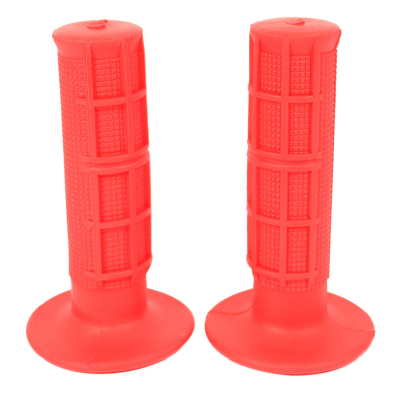 "Red Motocross Style 7/8"" Grip Set - Goldwingparts.com"