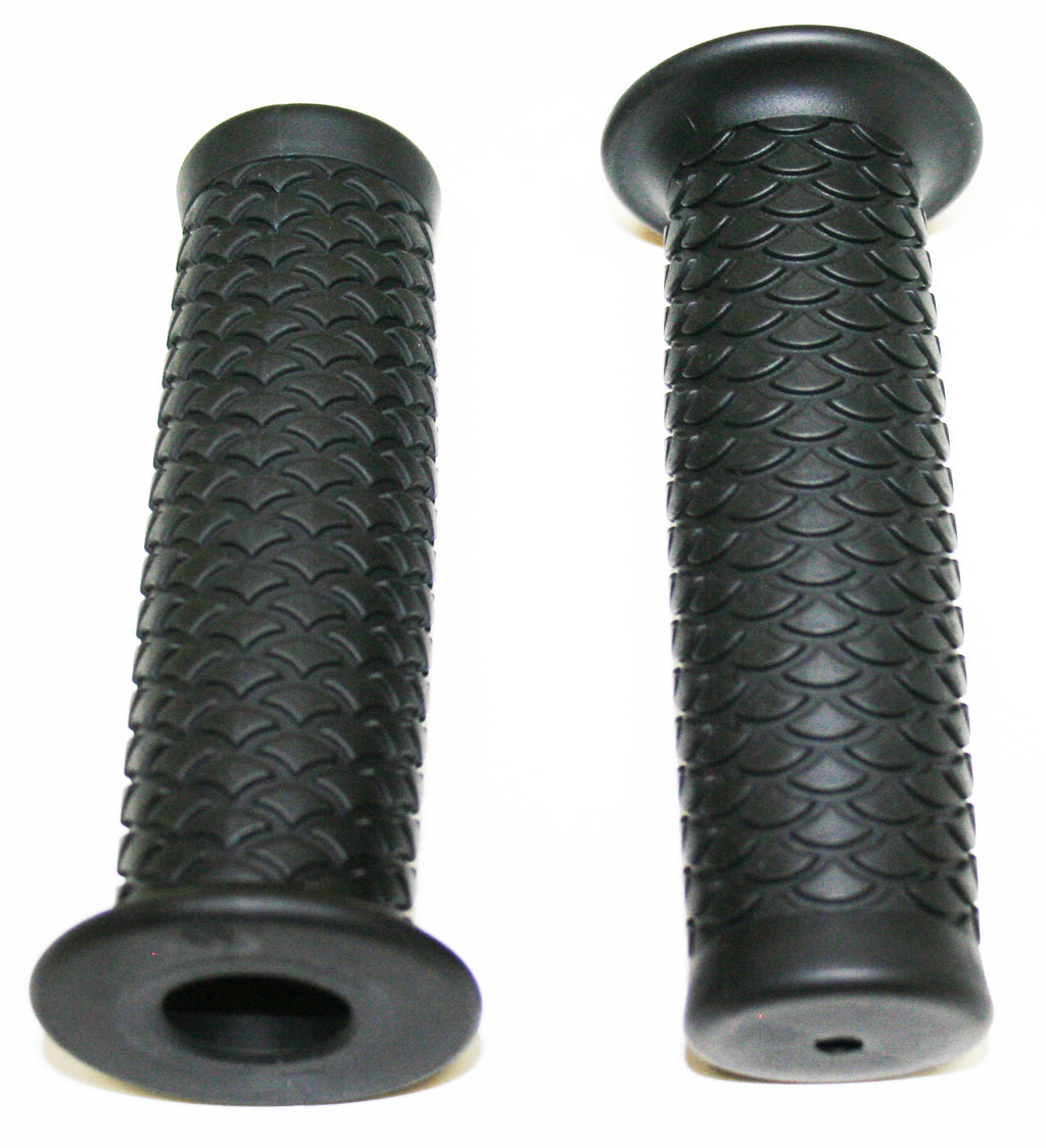 "Retro Black Style 7/8"" Grip Set - Goldwingparts.com"