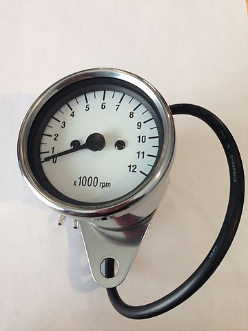 Deluxe Mini Custom Tachometer - Goldwingparts.com