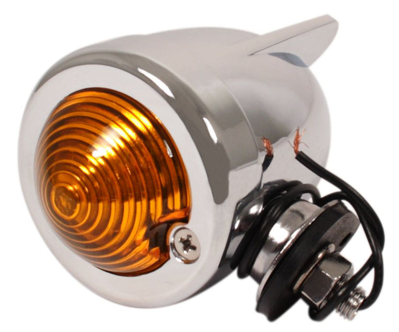 Zeppelin Style Marker Light ~ Amber Lens - Goldwingparts.com