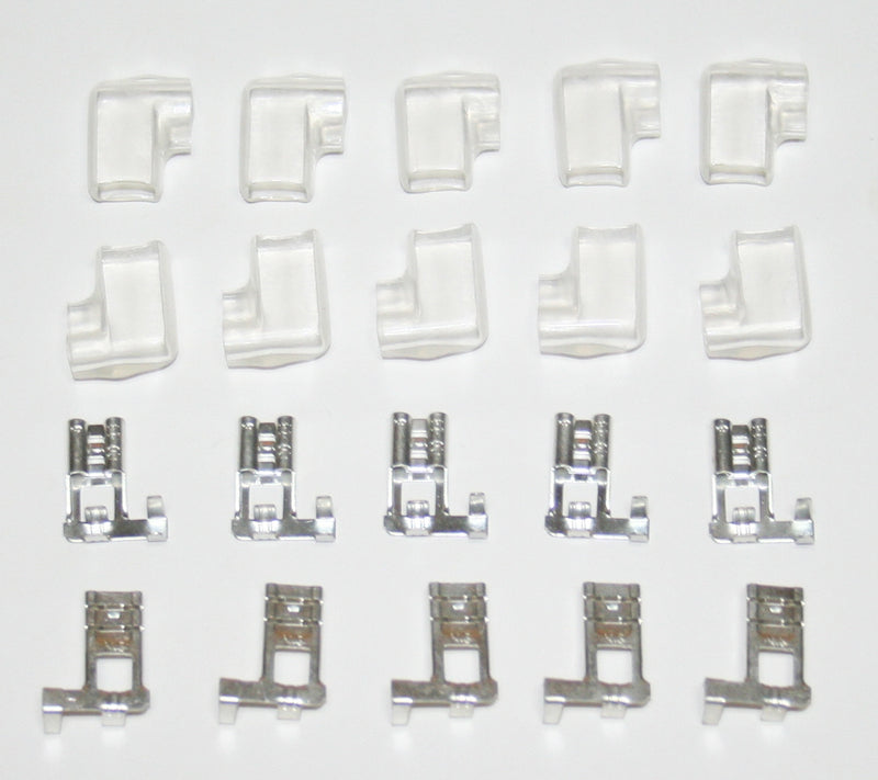 250 Type Flag Terminals w Covers Pk/10 - Goldwingparts.com