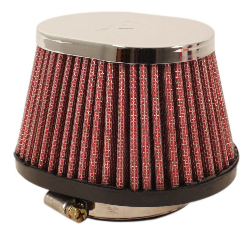 Chrome Oval Cap Air Filter 57mm - Goldwingparts.com