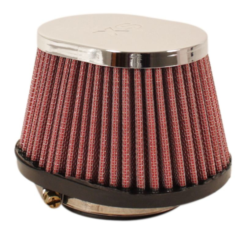 Chrome Oval Cap Air Filter 62mm - Goldwingparts.com