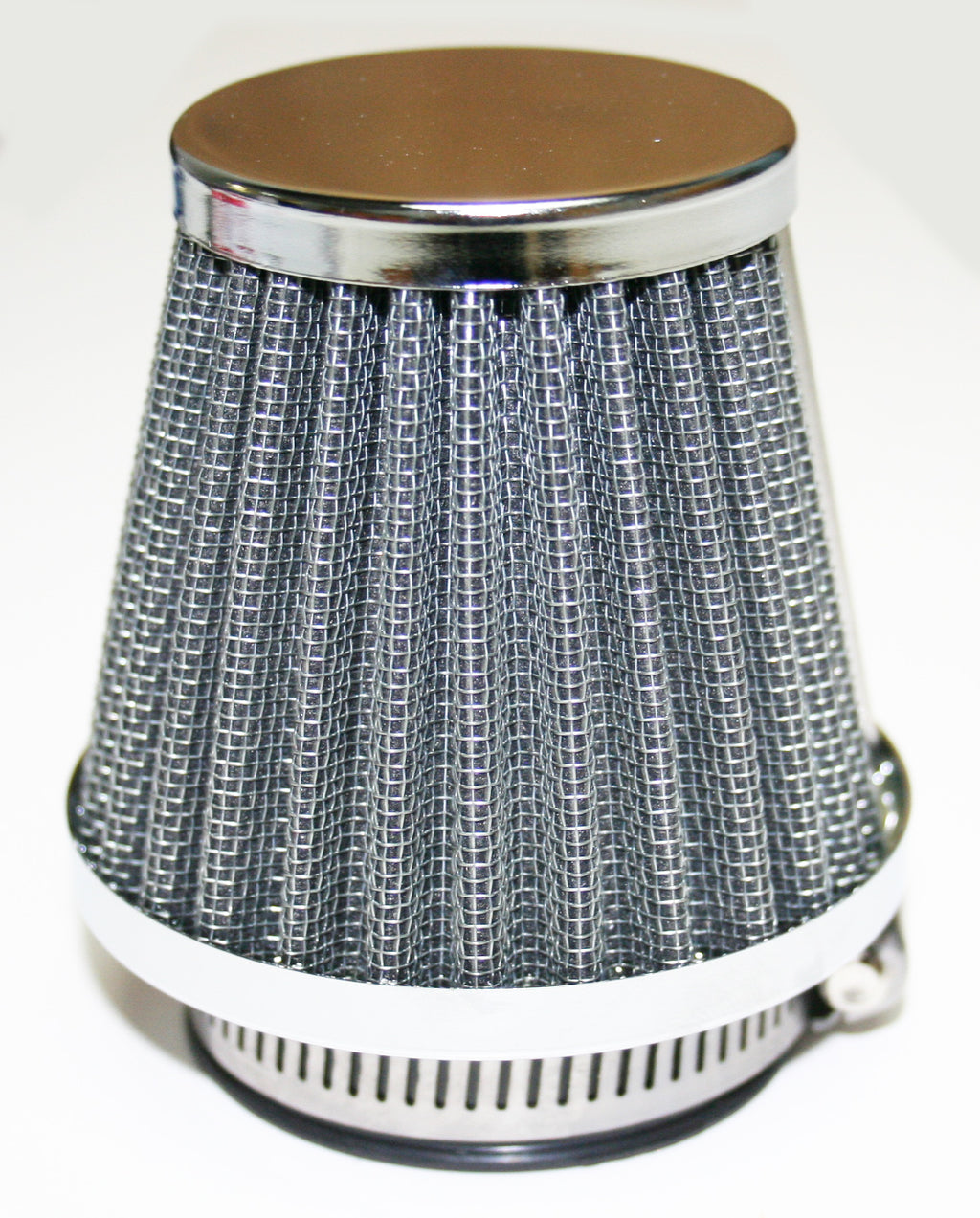 Chrome Circular Cap Air Filter 42mm - Goldwingparts.com
