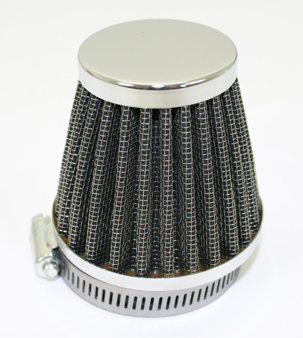 Chrome Circular Cap Air Filter 54mm - Goldwingparts.com