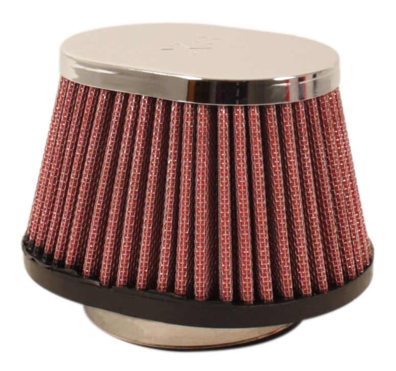 Chrome Oval Cap Air Filter 65mm - Goldwingparts.com