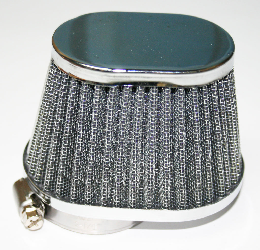 Chrome Oval Cap Air Filter 39mm - Goldwingparts.com