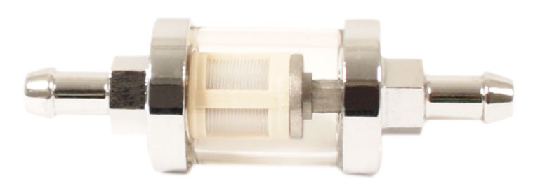 "See Thru Fuel Filter With Cleanable Element ~ 5/16"" Fitting - Goldwingparts.com"