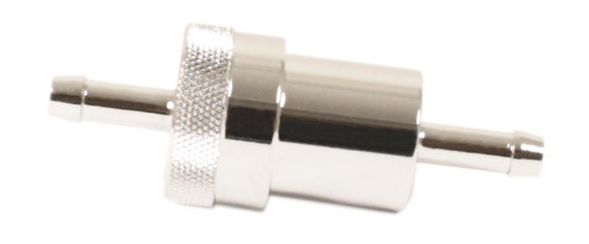 "Russell Type Fuel Filter W Brass Filter Element ~ 1/4"" Fitting - Goldwingparts.com"