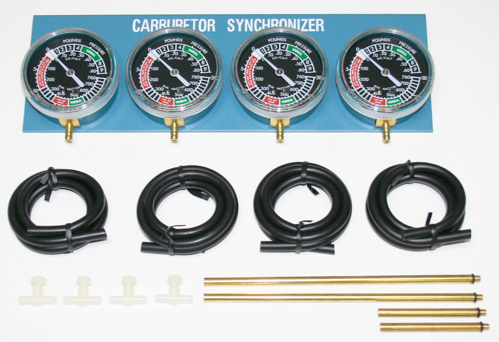Carburetor Synchronizer Vacuum Gauge ~ 2,3,4 Cylinders - Goldwingparts.com
