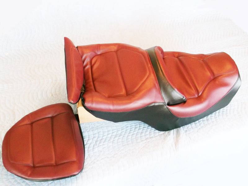 Red/Black Seat & Back Rest Cover GL1500 1988-97 - Goldwingparts.com