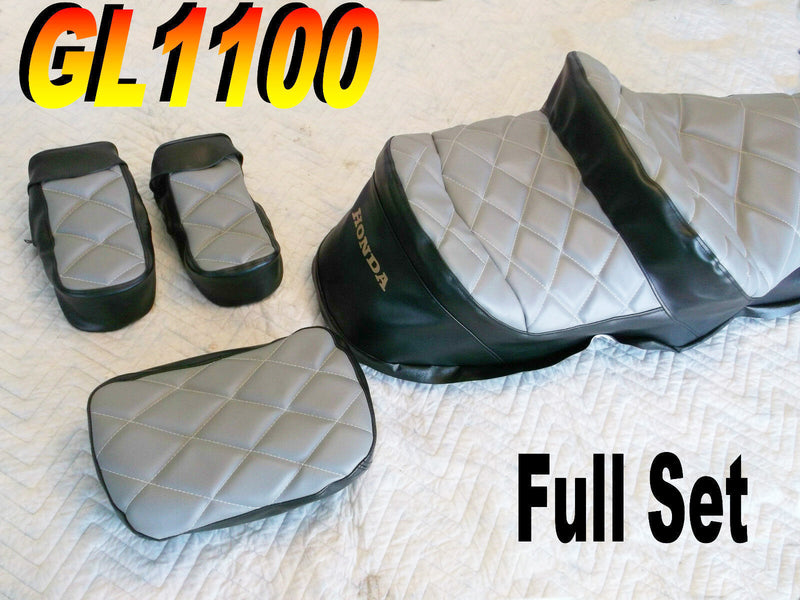 Full Gray/Black Cover Set GL1100 1980-82 - Goldwingparts.com
