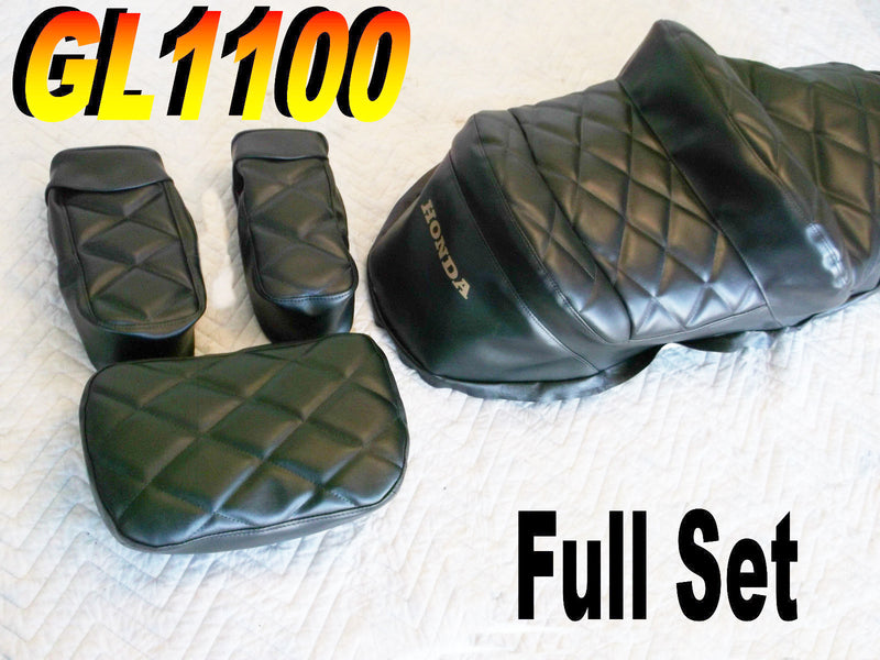 Full Black Cover Set GL1100 1980-82 - Goldwingparts.com