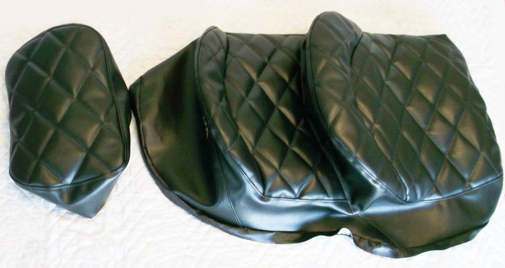 Black Seat Cover Set GL1100 1980-82 - Goldwingparts.com