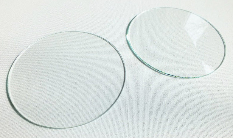 Speedometer & Tachometer Replacement Glass Lens Set/2
